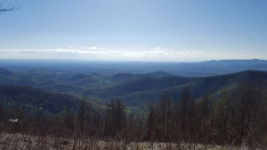 First stop on the Blue Ridge Parkway.